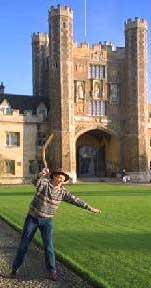 Throwing a boomerang at Cambridge University!