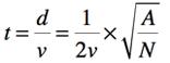 formula for t